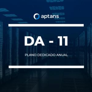 Plano dedicado anual servidor gerenciados