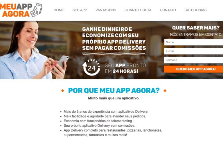 Meu App Agora - Servidor Gerenciado