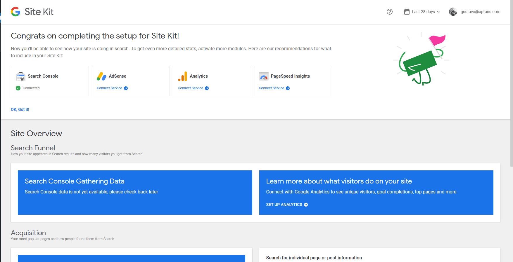 Google Analytics - Servidores Gerenciados